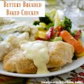 Buttery Breaded Baked Chicken | realmomkitchen.com
