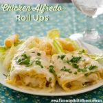 Chicken Alfredo Roll Ups | realmomkitchen.com