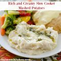 Rich and Creamy Slow Cooker Mashed Potatoes | realmomkitchen.com
