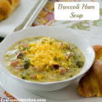 Broccoli Ham Soup | realmomkitchen.com
