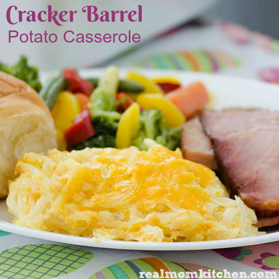 Cracker Barrel Potato Casserole | realmomkitchen.com