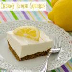 Creamy Lemon Squares | realmomkitchen.com