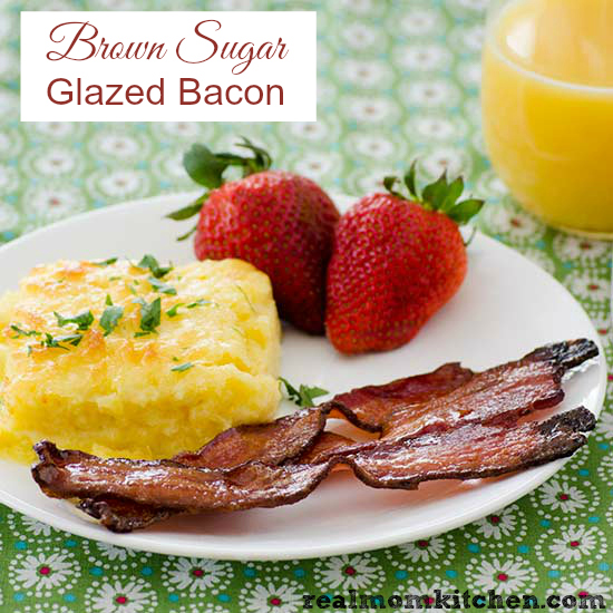 print brown sugar glazed bacon ingredients 1 lb thick sliced bacon ⅓ ...