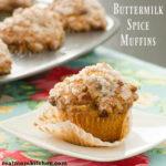 Buttermilk Spice Muffins | realmomkitchen.com