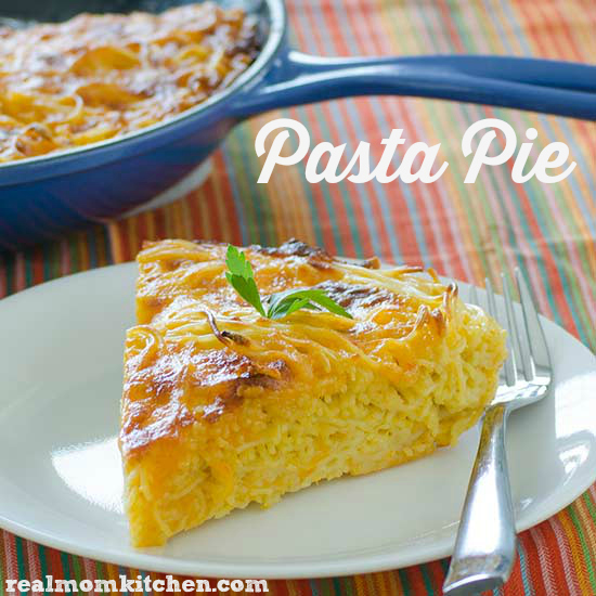 Pasta Pie | realmomkitchen.com