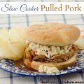 Slow Cooker Pulled Pork | realmomkitchen.com