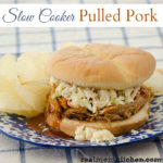 Slow Cooker Pulled Pork | realmomkitchen.com