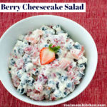 Berry Cheesecake Salad | realmomkitchen.com
