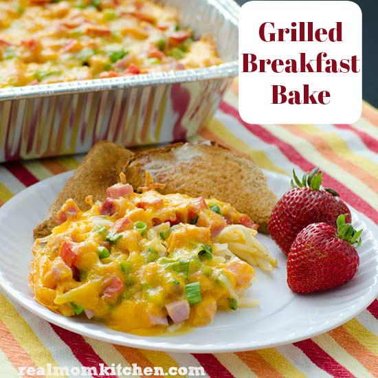 Real Mom Kitchen: Grilled Breakfast Bake