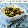 Ground Beef and Broccoli Stir Fry | realmomkitchen.com