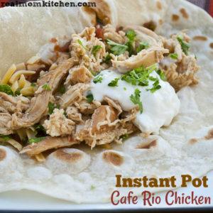 Pressure Cooker Cafe Rio Chicken
