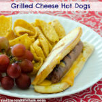 Grilled Cheese Hot Dogs | realmomkitchen.com