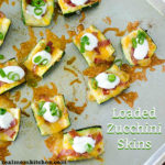 Loaded Zucchini Skins | realmomkitchen.com