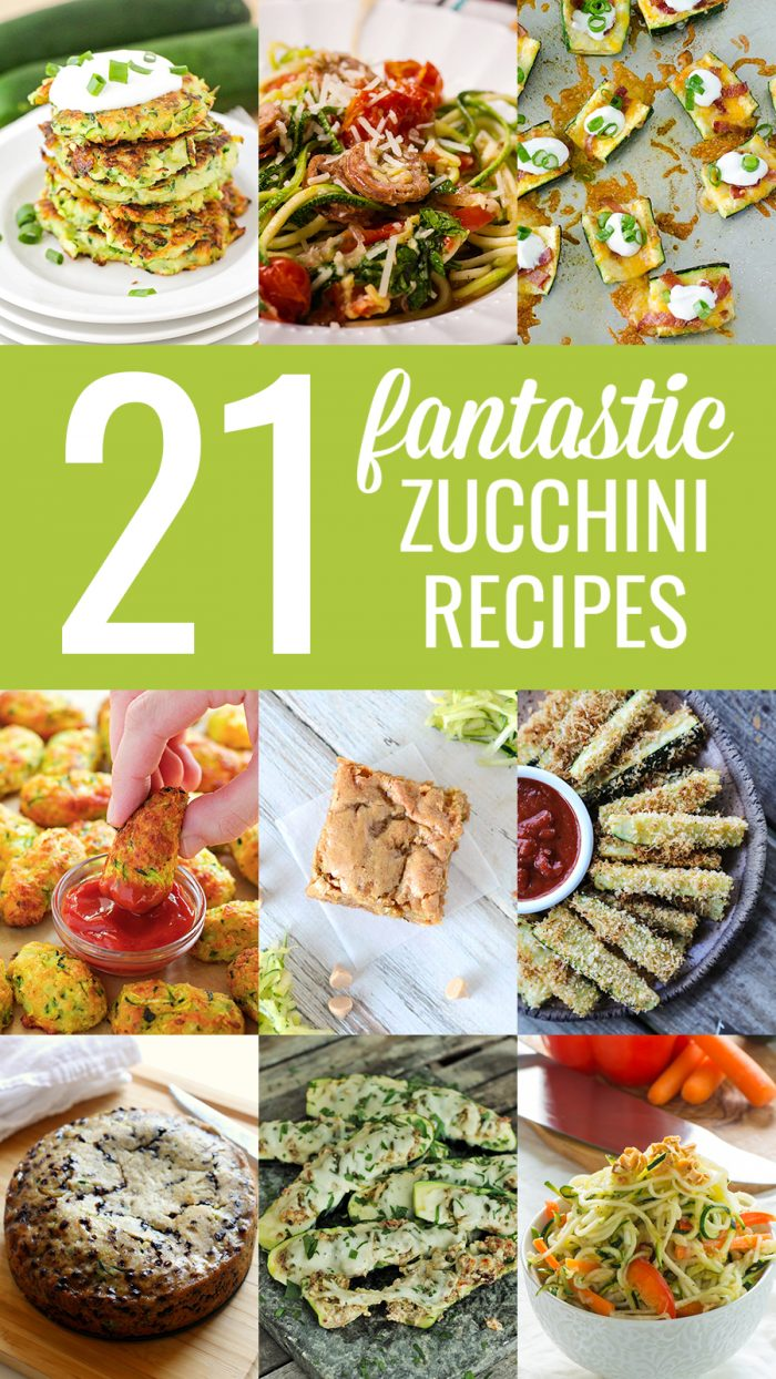 21 Fantastic Zucchini Recipes | realmomkitchen.com #nationalzucchiniday #celebratingfoodholidays