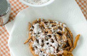 Pumpkin Funnel Cakes | realmomkitchen.com