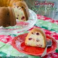 Cranberry Pound Cake | realmomkitchen.com