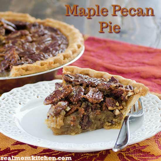 Maple Pecan Pie   Real Mom Kitchen