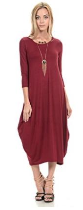 Cocoon Midi Dress