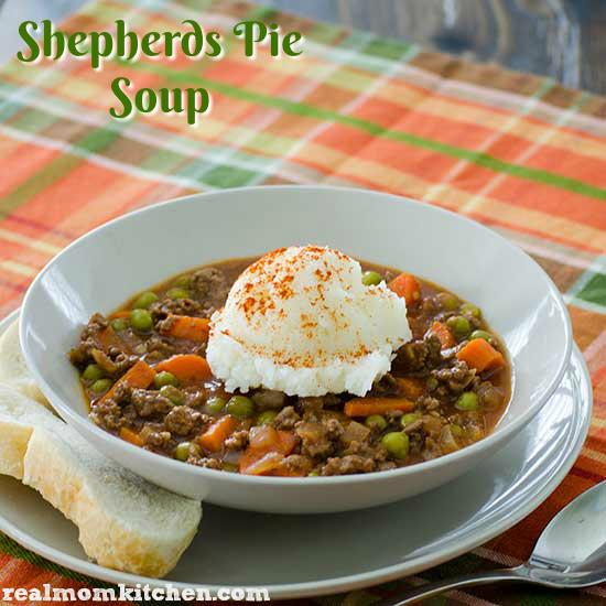 Shepherds Pie Soup | realmomkitchen.com