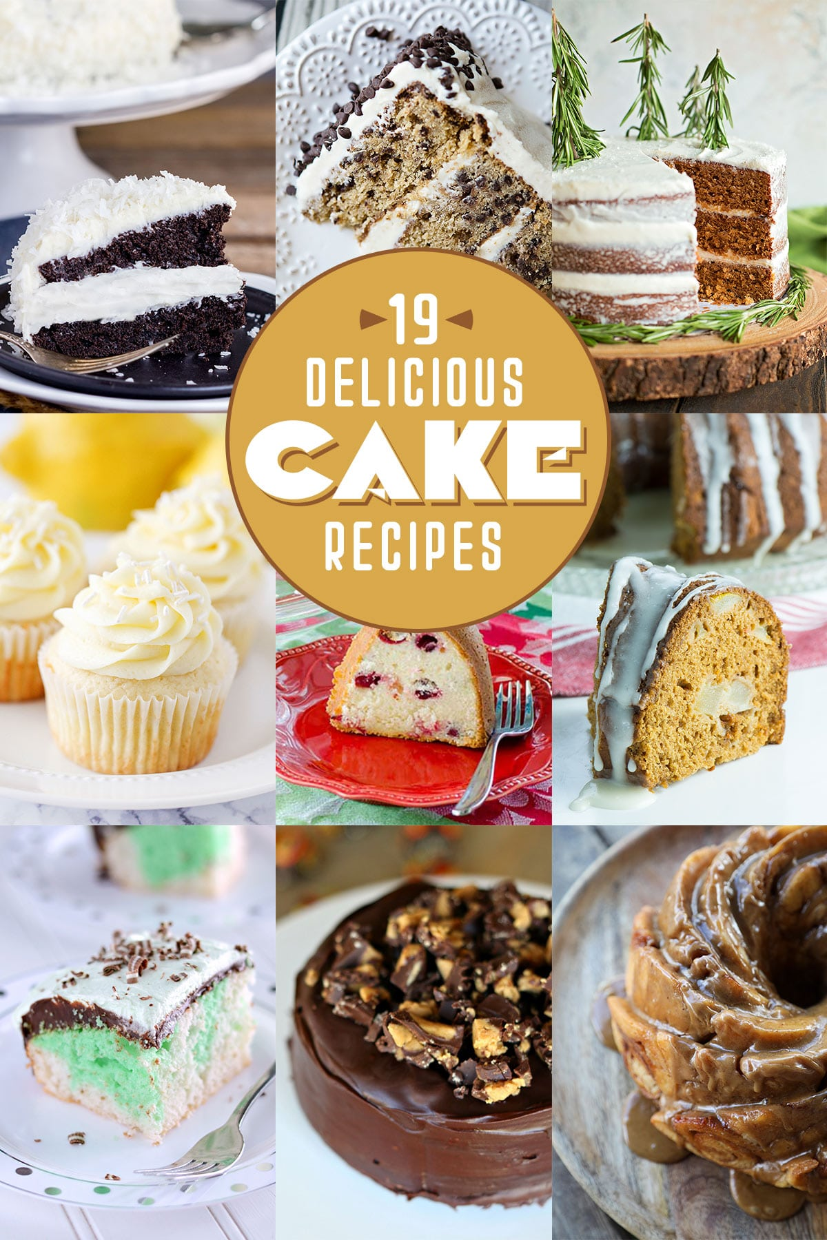 19 Delicious Cake Recipes | realmomkitchen.com