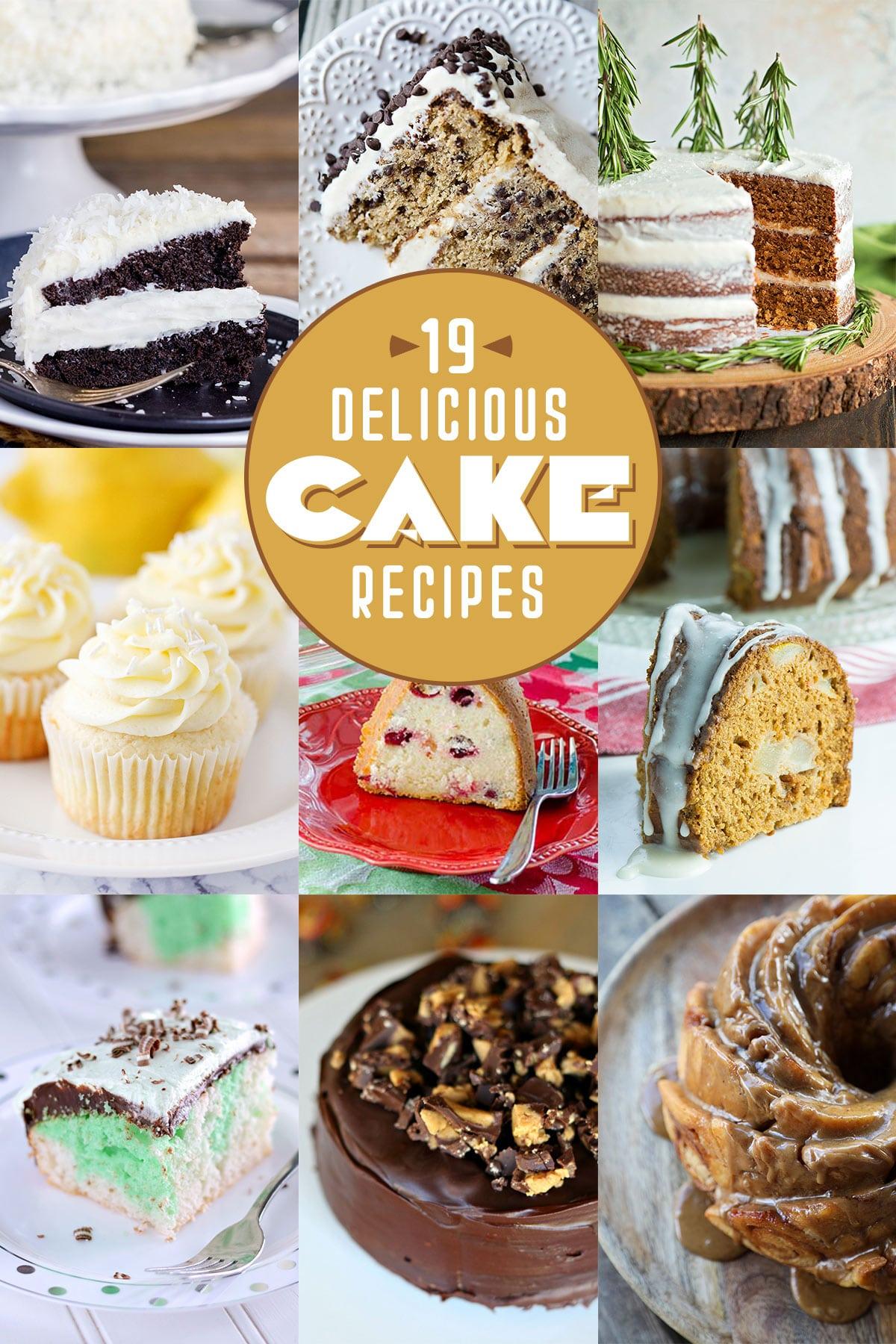 19 Delicious Cake Recipes | realmomkitchen.com