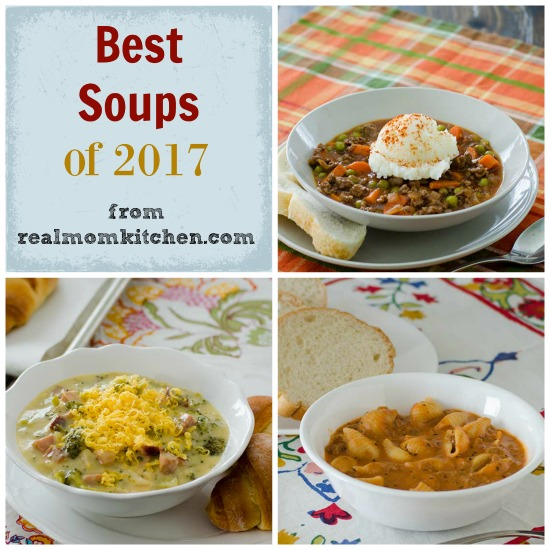 Best Soups of 2017   realmomkitchen.com