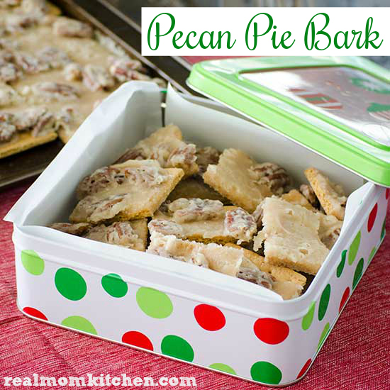 Pecan Pie Bark | realmomkitchen.com