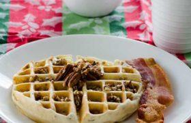 Pecan Waffles | realmomkithcen.com