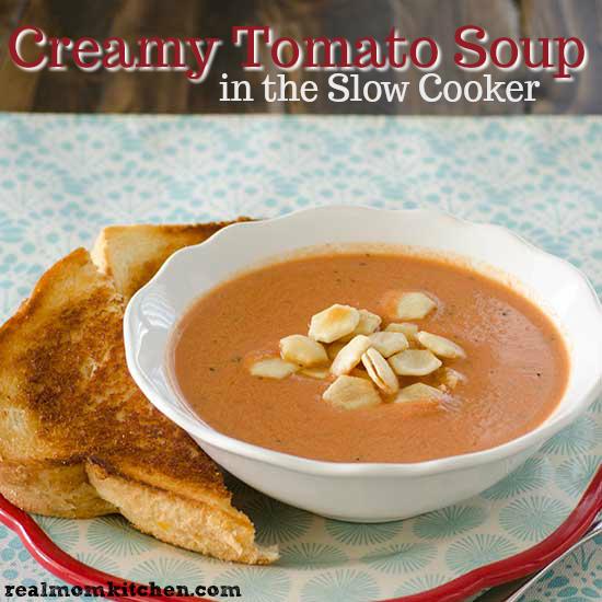 Creamy Tomato Soup   realmomkitchen.com