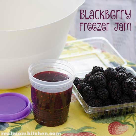 Blackberry Freezer Jam   realmomkitchen.com