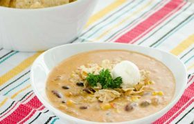 Cheesy Taco Soup | realmomkitchen.com