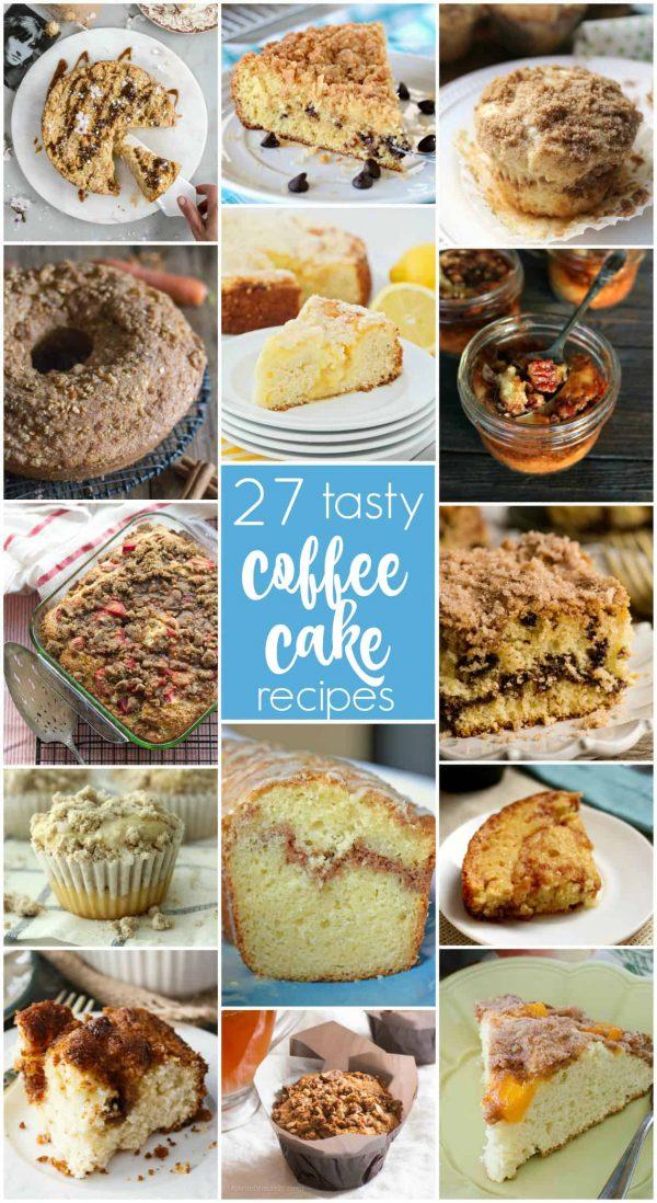 27 Coffee Cake Recipes | realmomkitchen.com