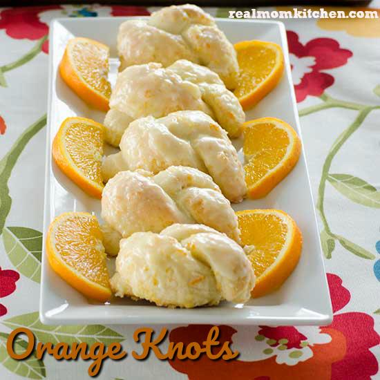 Orange Knots   realmomkitchen.com
