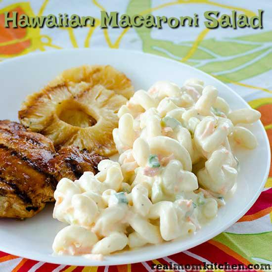 Hawaiian Macaroni Salad | realmomkitchen.com