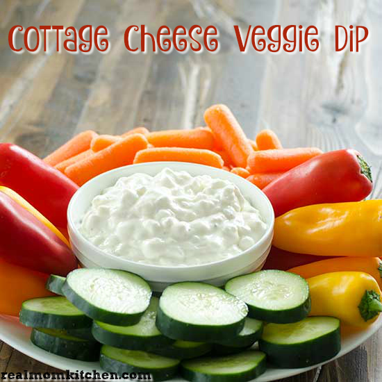 cottage cheese veggie dip real mom kitchen dip rh realmomkitchen com cottage cheese dill veggie dip healthy cottage cheese vegetable dip