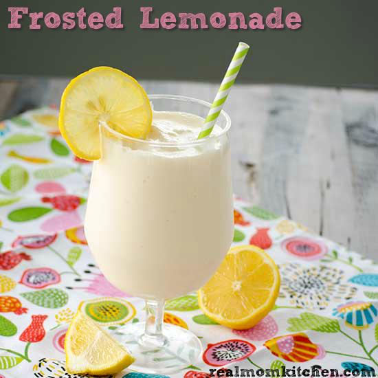 Frosted Lemonade - Chick-fil-a Copy Cat | realmomkitchen.com