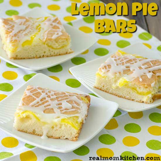 Lemon Pie Bars   realmomkitchen.com