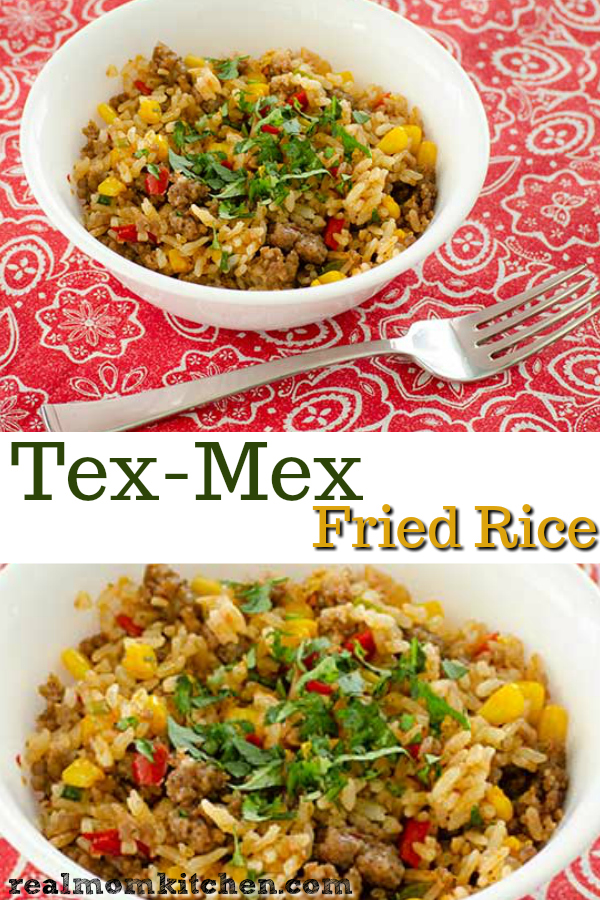 Tex-Mex Fried Rice | realmomkitchen.com