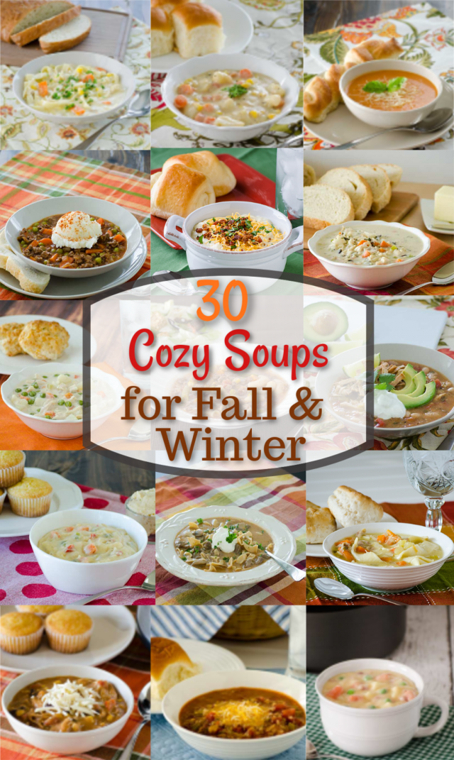 30 Cozy Soups for Fall and Winter | realmomkitchen.com