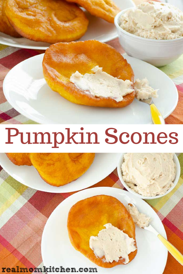 Pumpkin Scones (Utah Version) | realmomkitchen.com