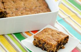 Banana Chocolate Chip Bars | realmomkitchen.com