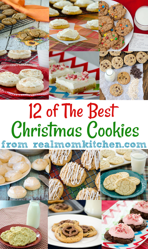 12 of the Best Christmas Cookies | realmomkitchen.com