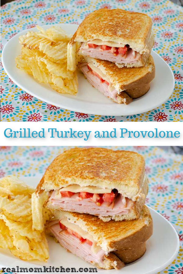 Grilled Turkey and Provolone Sandwiches | realmomkitchen.com