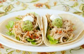 Instant Pot Chicken Tacos | realmomkitchencom