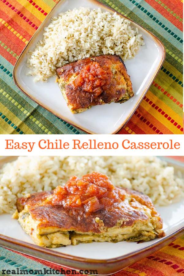 Easy Chile Relleno Casserole | realmomkitchen.com