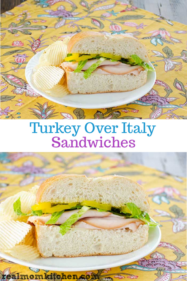 Turkey Over Italy Sandwiches | realmomkitchen.com