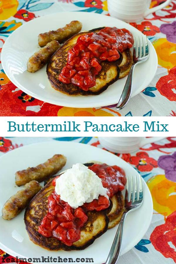 Buttermilk Pancake Mix | realmomkitchen.com