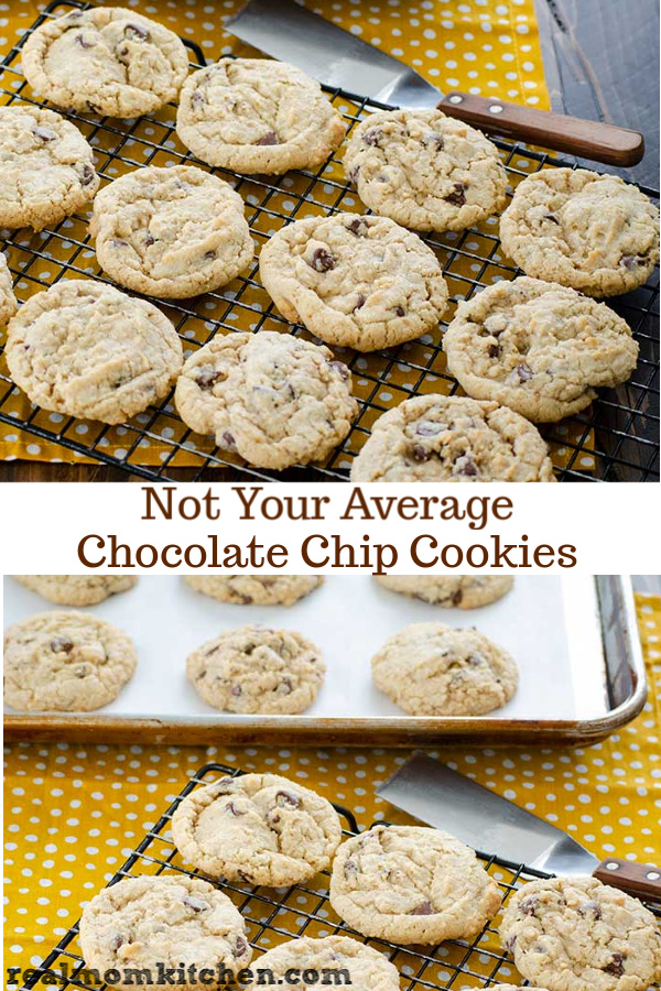 Not Your Average Chocolate Chip Cookies   realmomkitchen.com
