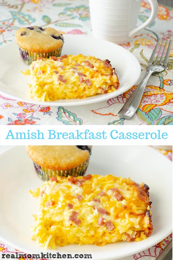 Amish Breakfast Casserole   realmomkitchen.com
