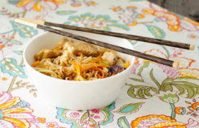 Chicken Vegetable Ramen Noodles | realmomkitchen.com